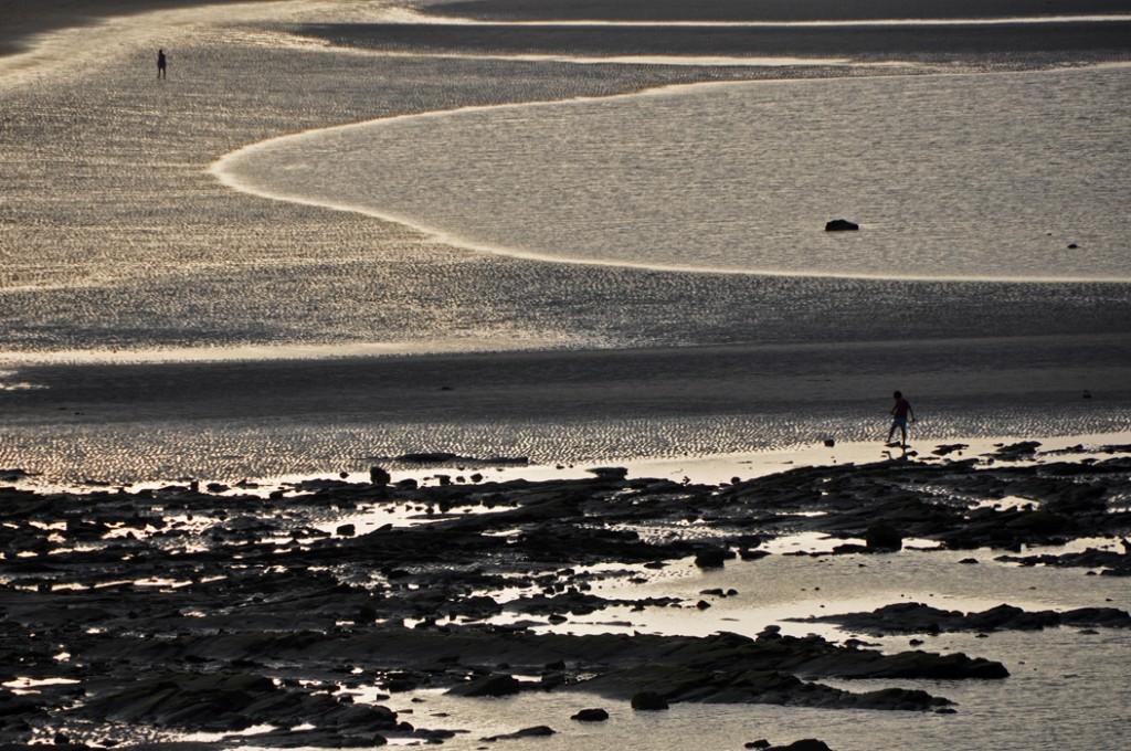 Lugo. Barreiros. Following the Cliff Path. Praia de Altar