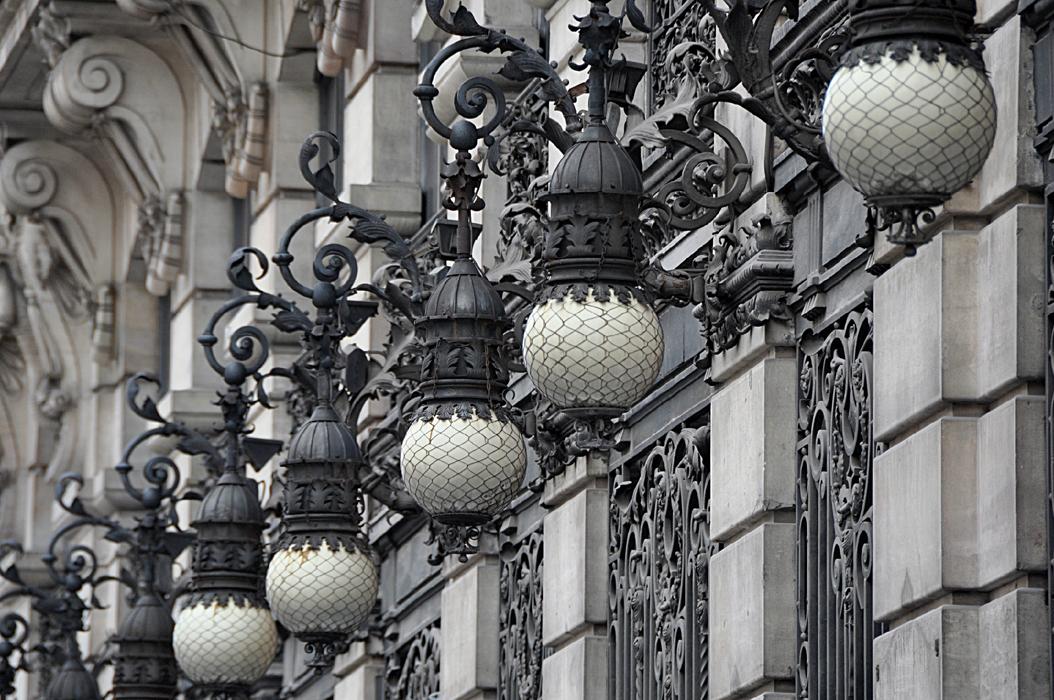 Madrid. Calle de Alcalá. Façade P