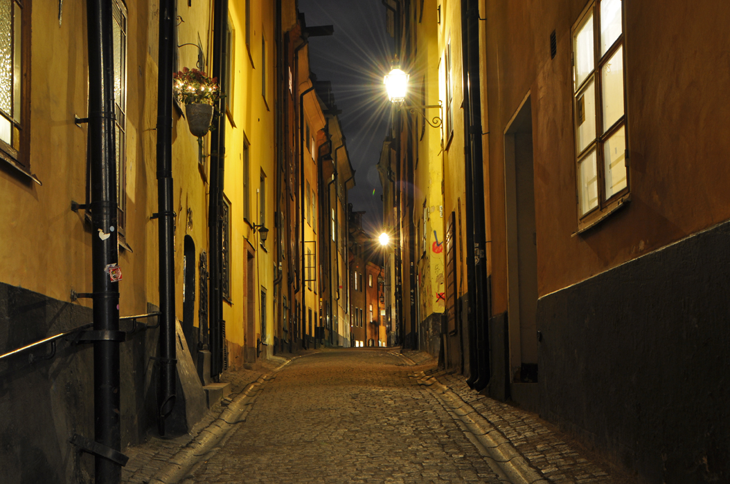 Stockholm. Gamla Stan at night  DSC_0082 P
