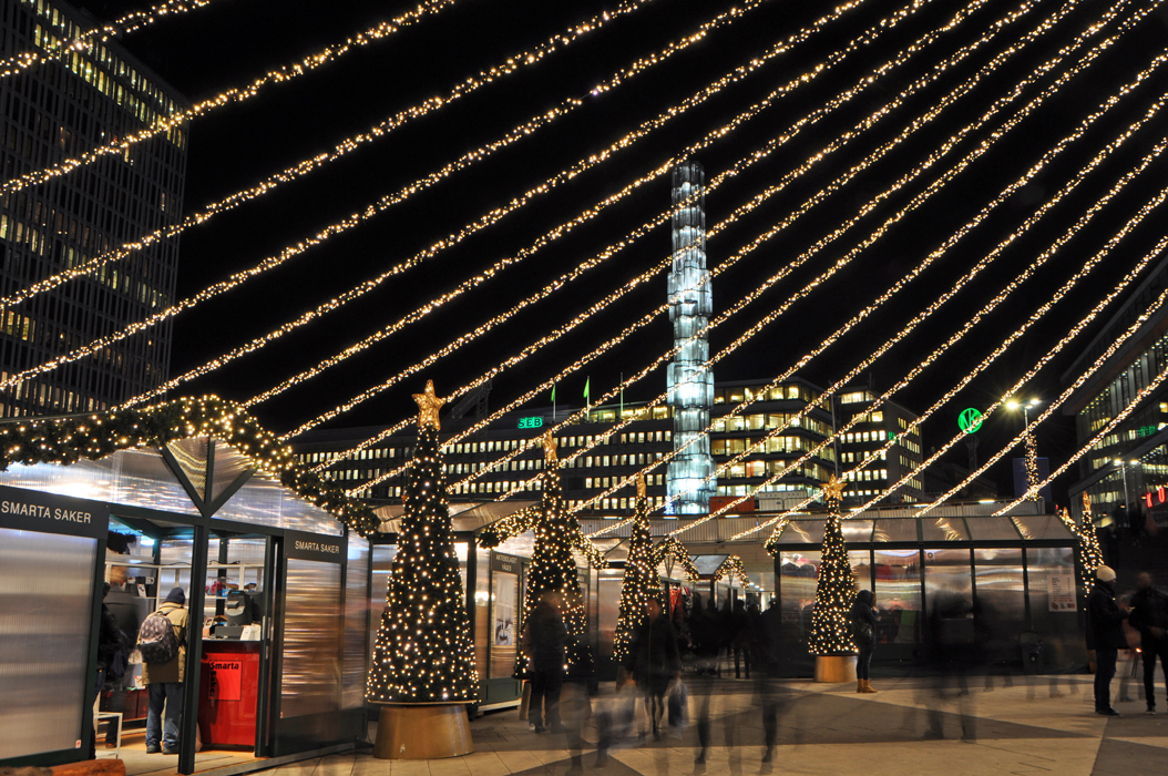 Stockholm. Sergels Torg at Christmas DSC_0108 P