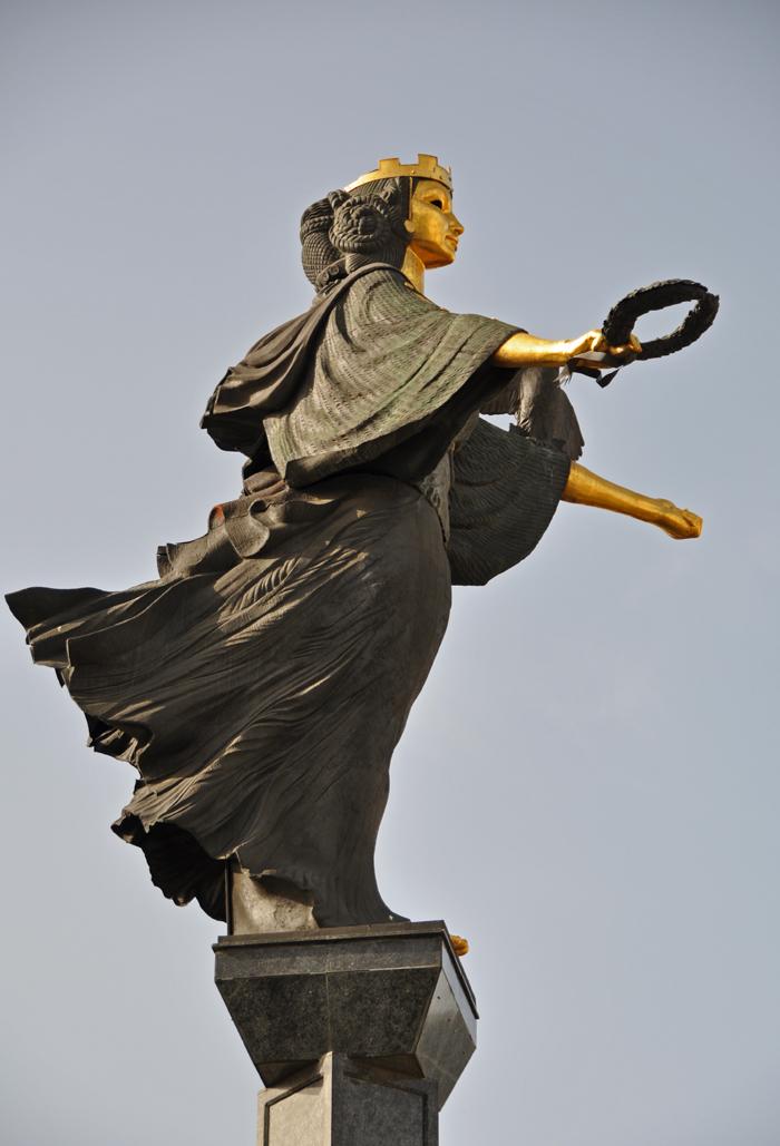 Sofia. Statue of Saint Sofia DSC_0325 P